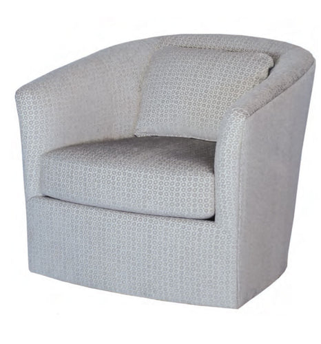 Hallagan 434-SGR Swivel Glider Rocker