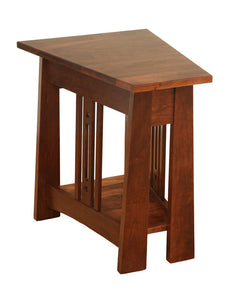 Aspen Wedge End Table