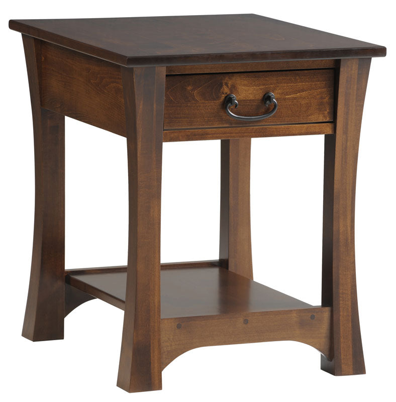 Woodbury End Table with Drawer