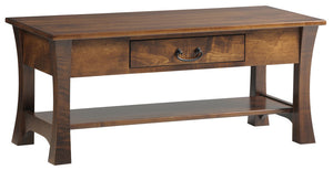 Woodbury Coffee Table with Drawer