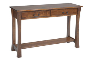 Woodbury Hall Table with two Drawers