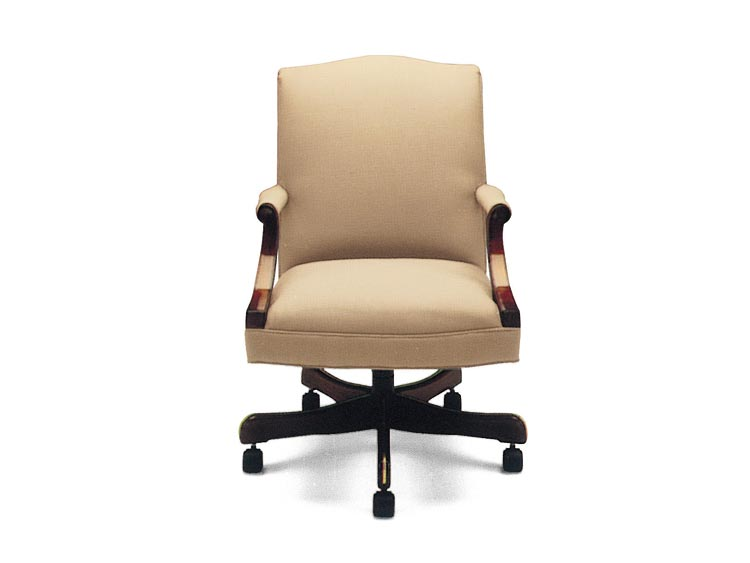 Leathercraft 7072 Richmond Low Back Tilt Swivel Chair