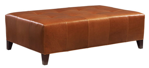 Leathercraft 911-04 Beaufort Ottoman