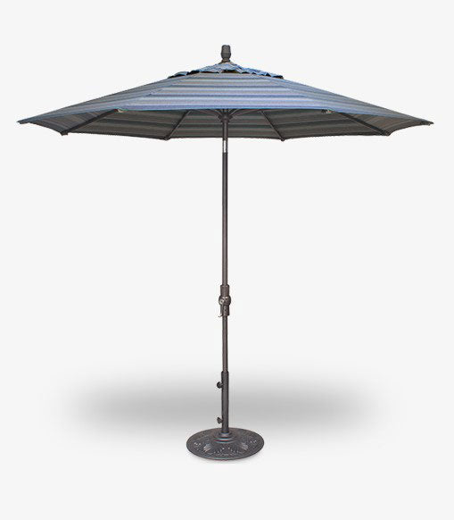 Hershyway 9' Market Umbrella with Tilt and Crank