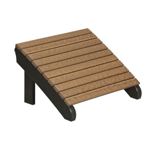 LuxCraft Poly Deluxe Adirondack Footrest