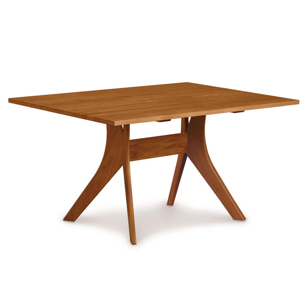 Copeland Audrey Fixed Top Dining Table in Cherry