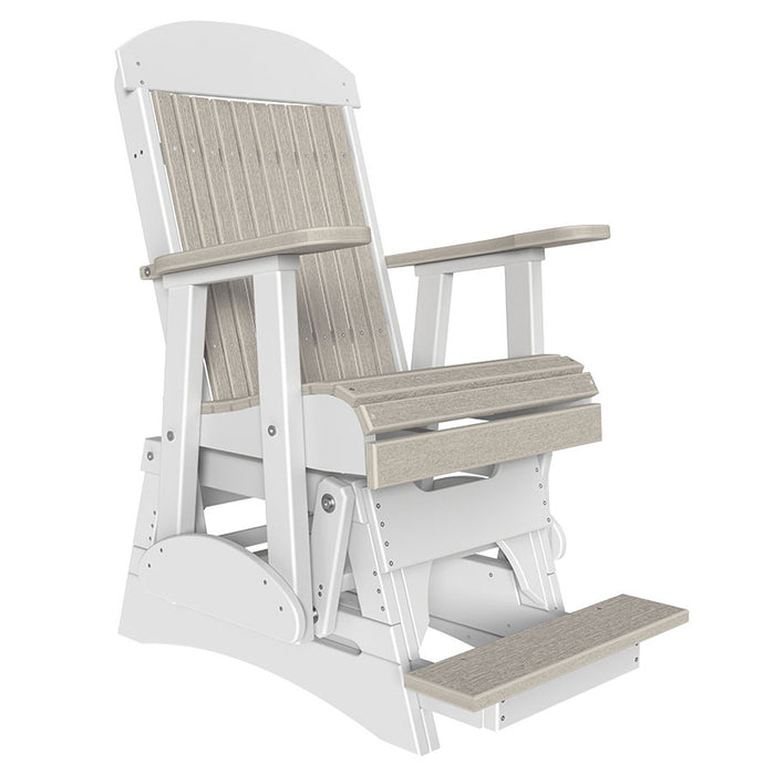LuxCraft 2' Classic Balcony Glider Chair