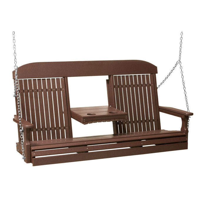 LuxCraft 5' Classic Poly Swing