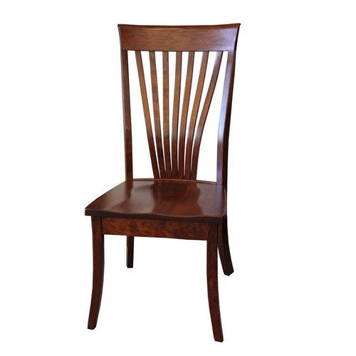 Christy Fan Back Side Dining Chair