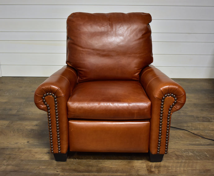 McKinley Leather 93 Charles Recliner