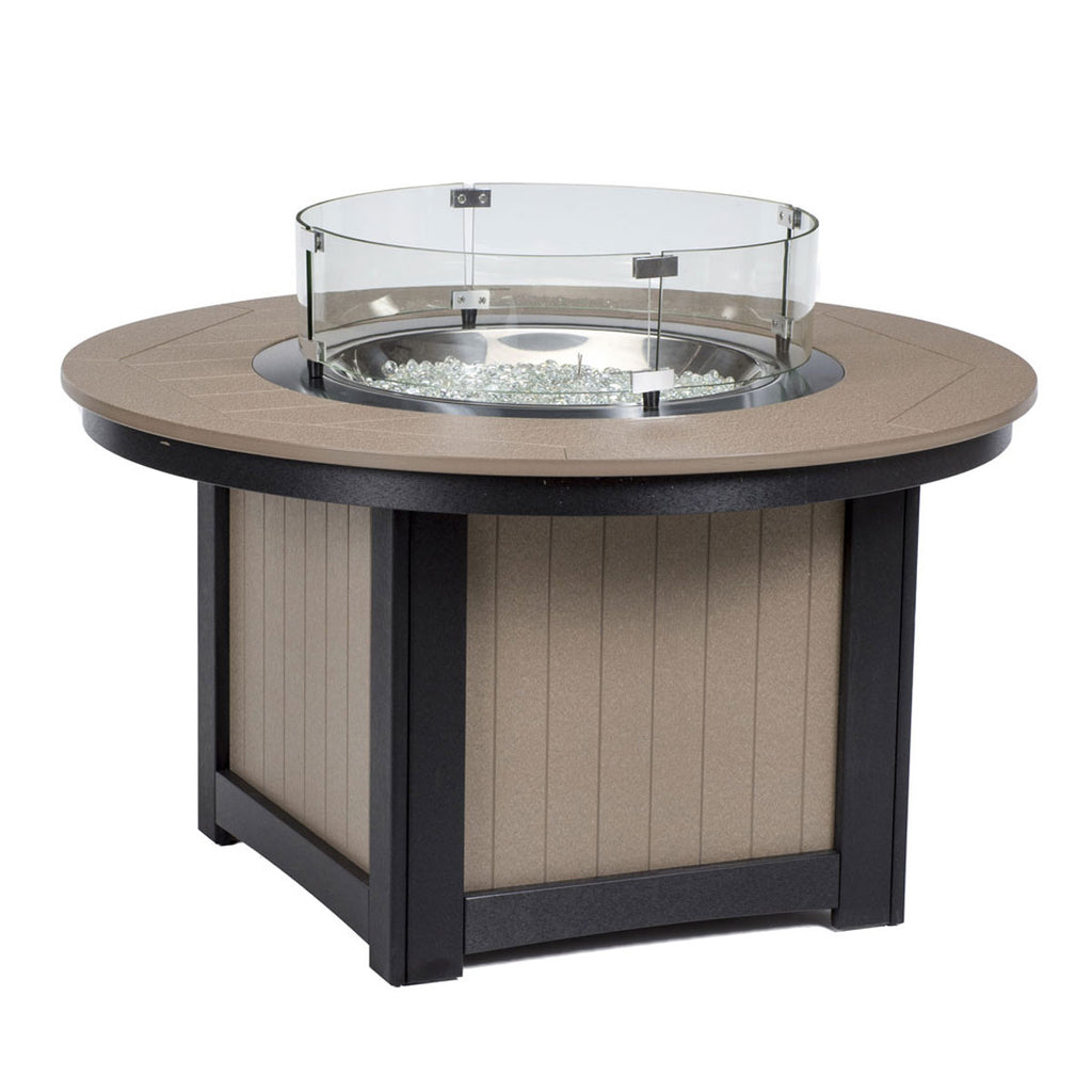 "Berlin Gardens Donoma 44"" Round Poly-Top Fire Pit"