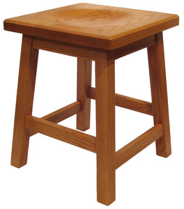 Down Home Stool with Scooped Seat