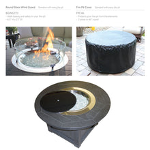 "Load image into Gallery viewer, Berlin Gardens Donoma 44"" Round Poly-Top Fire Pit"