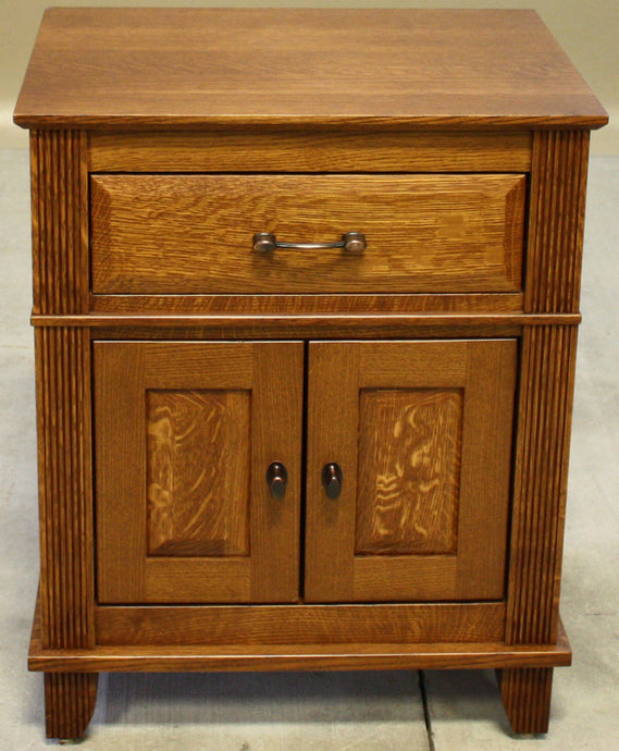 Arlington 1 Drawer, 2 Door Nightstand