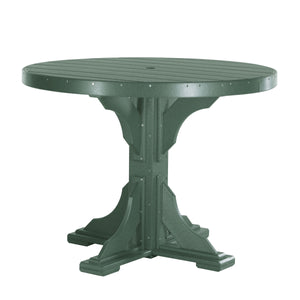 LuxCraft Poly 4' Round Dining Table