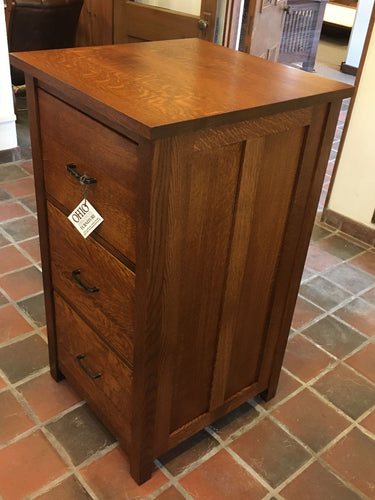 Coventry Mission 3-Drawer File Cabinet