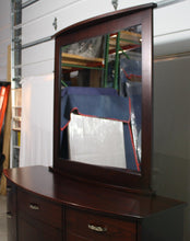 "Load image into Gallery viewer, Arch Dresser with 36"" x 36"" Arch Mirror"