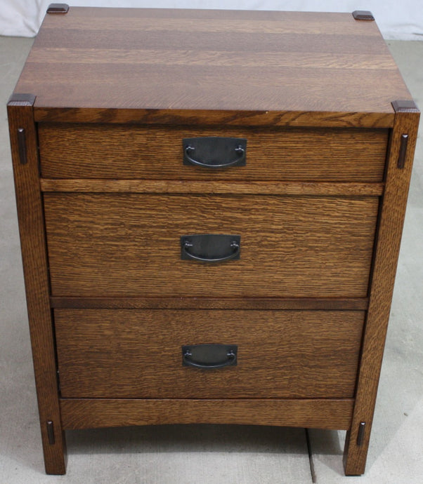 Mellion 3 Drawer Nightstand