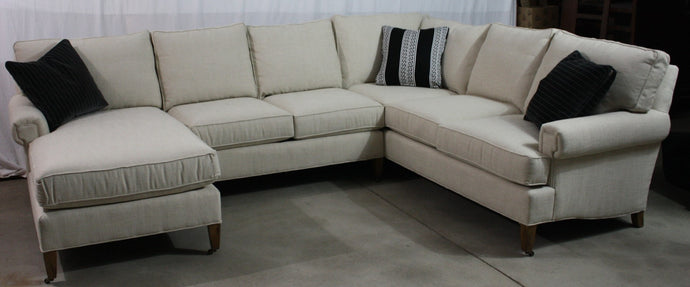 CR Laine 8800 Custom Sectional - Showroom Inventory