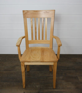 Set of Four Ottowa Dining Chairs - (4) Arms