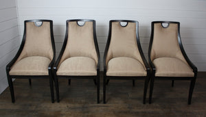 Set of Four Sesil Dining Chairs by Parker Southern