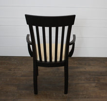 Load image into Gallery viewer, Set of Four Venice Dining Chairs - (2) Arms, (2) Sides with Fabric Seats