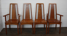 Load image into Gallery viewer, Set of Four Edinburgh Dining Chairs - (2) Arms, (2) Sides