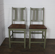 "Load image into Gallery viewer, Pair of 24"" Valencia Pub Chairs"