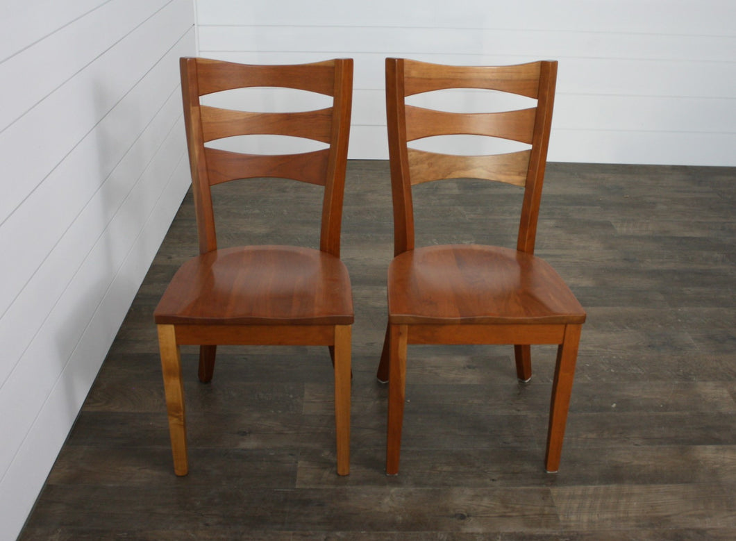 Pair of Sierra Dining Chairs - (2) Sides