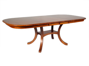 Old World Dining Table with Solid Top