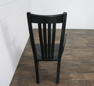 Set of Six Bella Dining Chairs - (2) Arms, (4) Sides