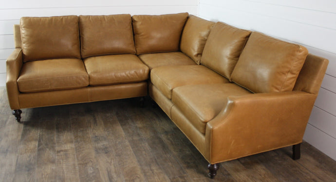 McKinley Leather 4245 Fox Sectional