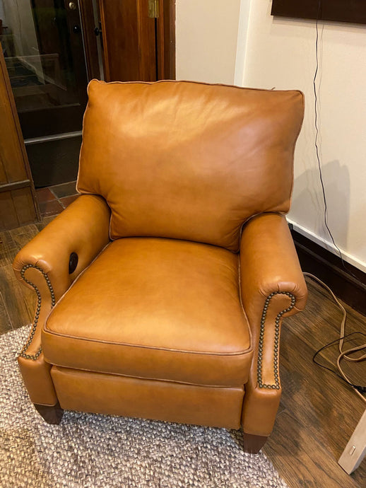 McKinley Leather Kent Power Recliner
