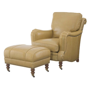 Wesley Hall L7008 Leather Hartwell Chair