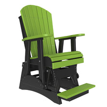 Load image into Gallery viewer, LuxCraft 2' Adirondack Balcony Glider Chair