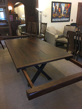 Load image into Gallery viewer, Milltown Double Pedetal Table