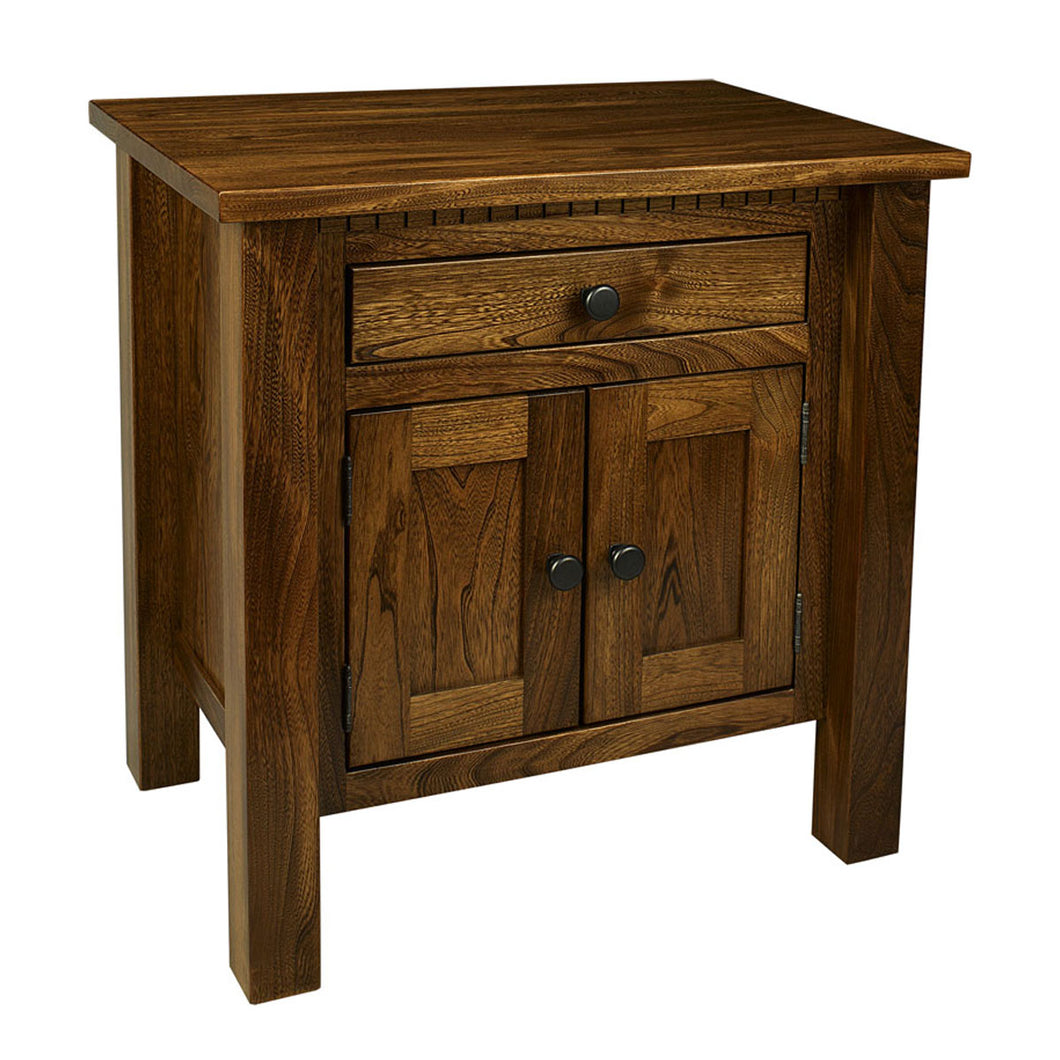 Lindholt One Drawer, Two Door Nightstand