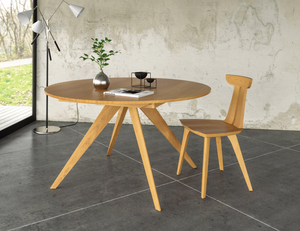 Copeland Catalina Round Extension Table in Cherry