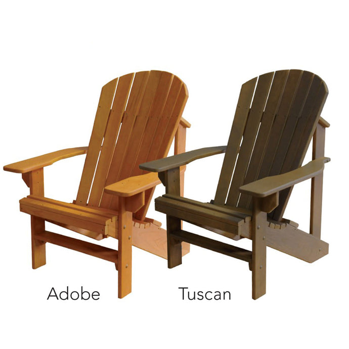 Hershyway Stained Adirondack Chair