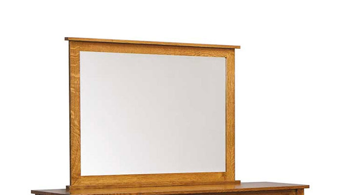 Dutch Country Mission Mule Dresser Beveled Mirror