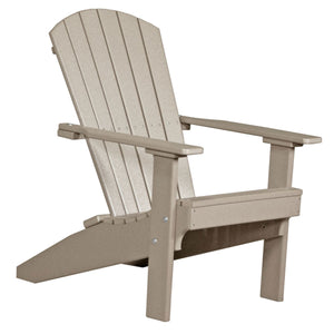 LuxCraft Poly Lakeside Adirondack Chair