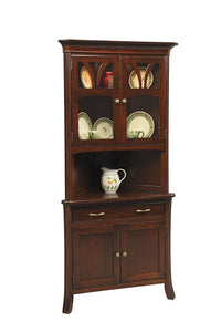 "Williamson Hartford 28"" Corner Hutch with Drawer"