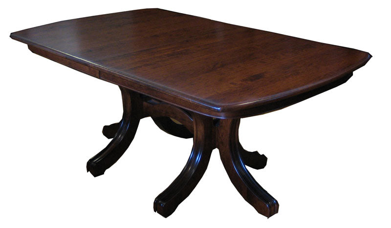 Williamson Double Pedestal Table