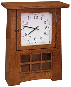 "18"" Arts and Crafts Pendulum Clock - Striking"