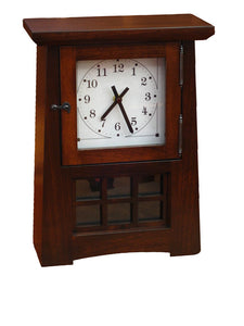 Arts and Crafts Pendulum Clock