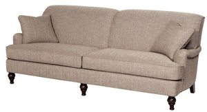Hallagan Crawford Sofa with Highland Spool Base