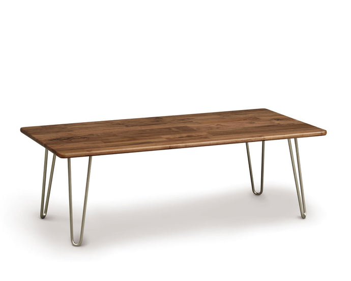Copeland Essentials Rectangular Coffee Table with Metal Legs