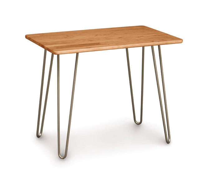 Copeland Essentials Rectangle End Table with Metal Legs