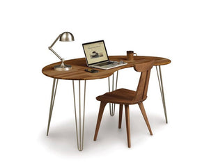 Copeland Essentials Kidney Desk with Metal Legs