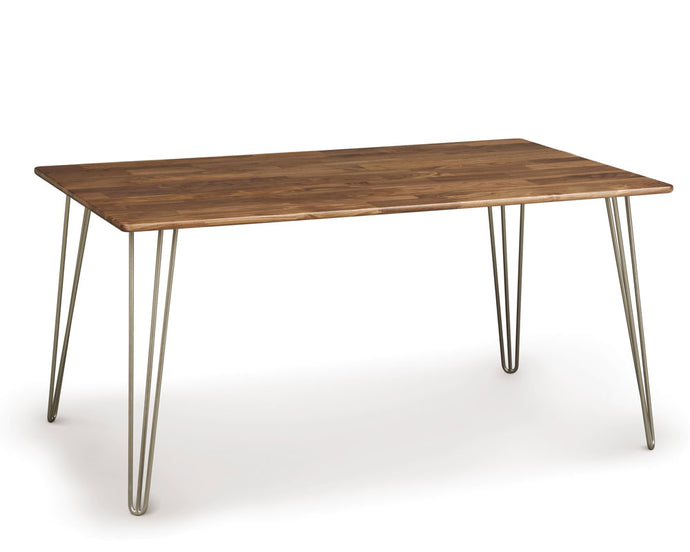 Copeland Essentials Rectangular Dining Table with Metal Legs